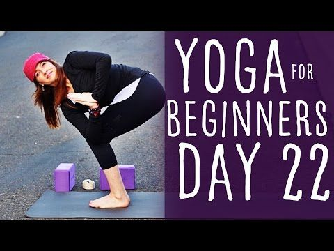 30 minute yoga for beginners 30 day challenge day 22 with