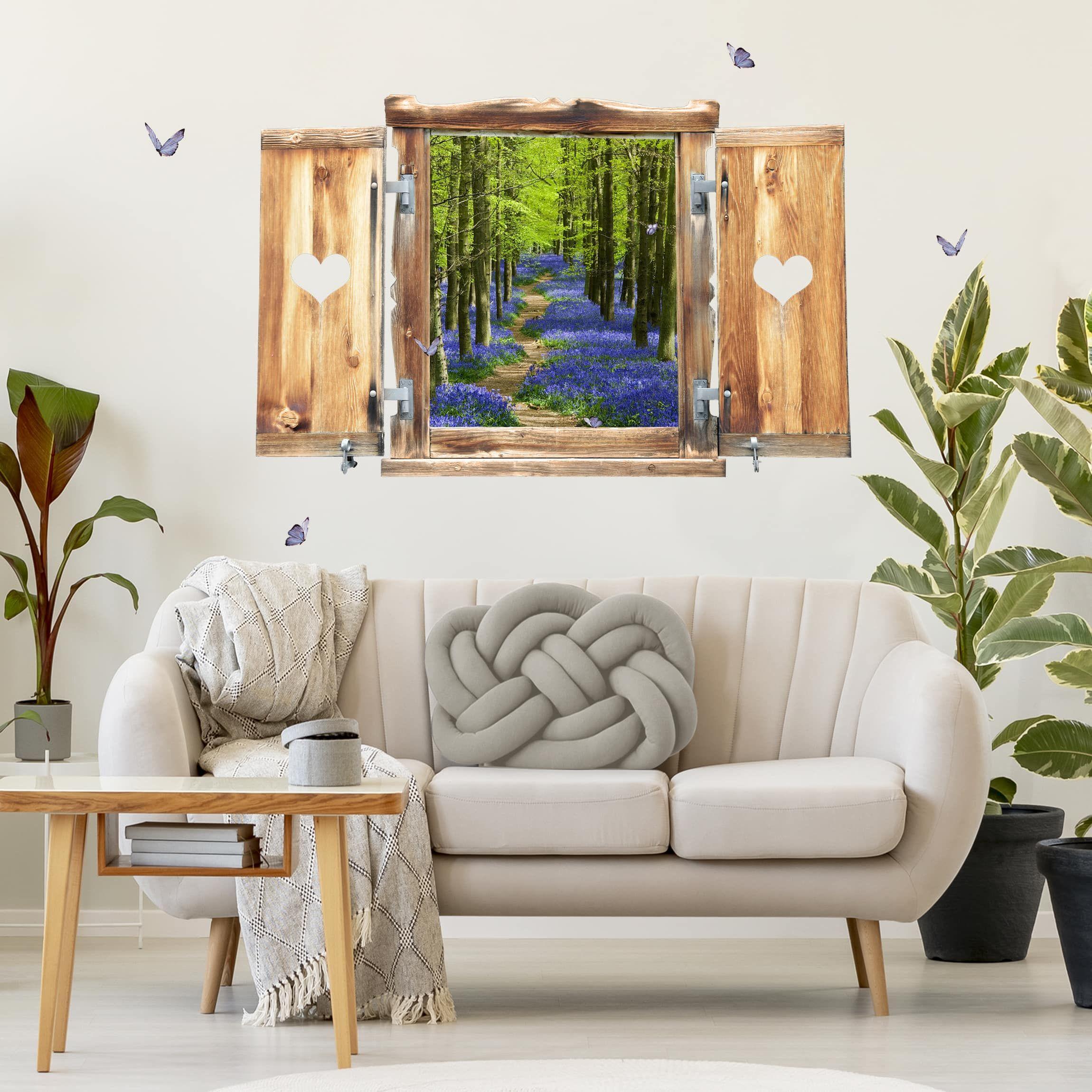 Trompe L Oeil Adesivi Murali.Trompe L Oeil Adesivi Murali Finestra Tirolese Su Hertfordshire