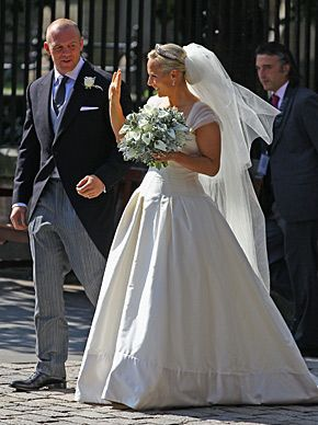 Zara Phillips Of Great Britain And Mark Tindall 2011