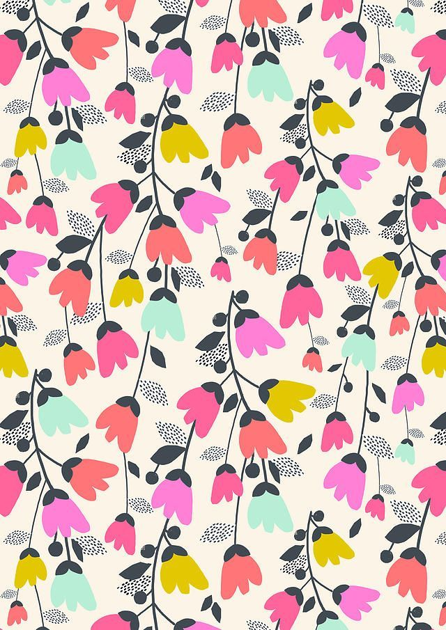 Des fleurs et des murs #surfacepatterndesign