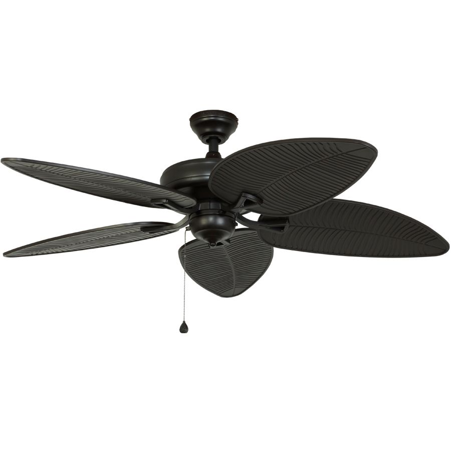 Shop harbor breeze 52 in pacific grove oil rubbed bronze outdoor shop harbor breeze 52 in pacific grove oil rubbed bronze outdoor ceiling fan energy star aloadofball