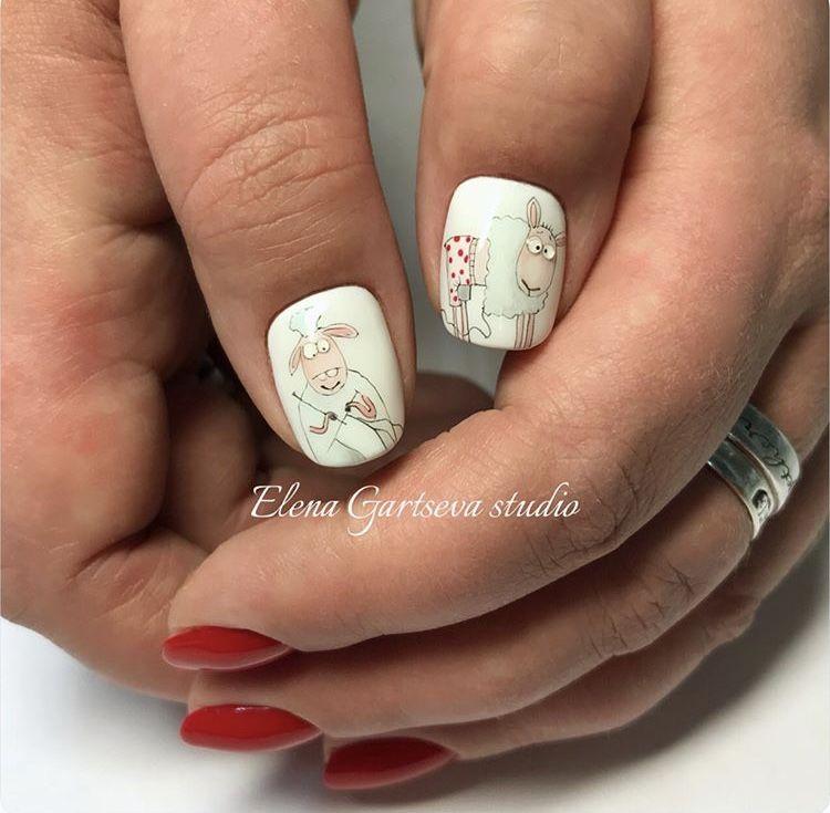 Funny Nail Art Manicure Nails Pinterest Manicure