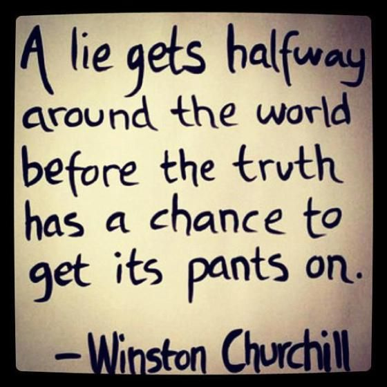 Winston Churchill about lies. | Words quotes, Churchill quotes ...