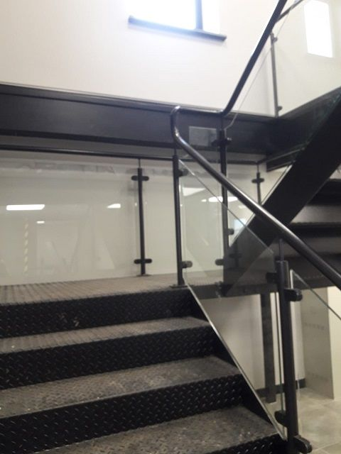 Best Mild Steel Staircase For An Office Block In 2019 640 x 480