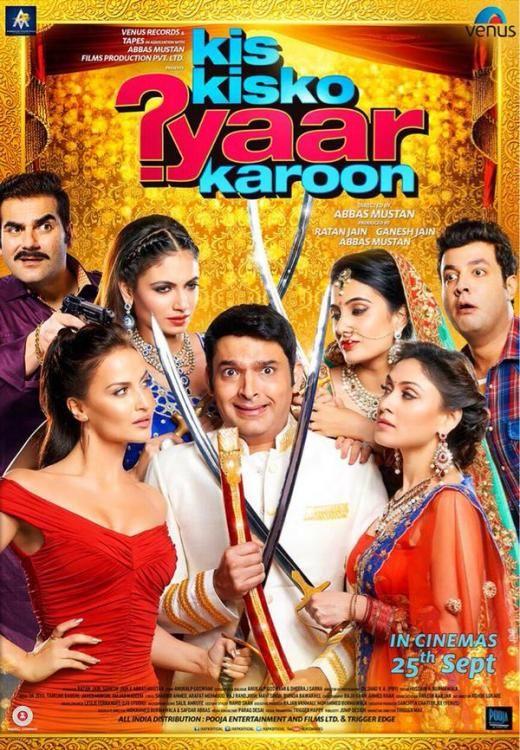 hindi movie kis kisko pyaar karoon mp3 songs