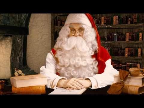 Joulupukin videotervehdys Lapista