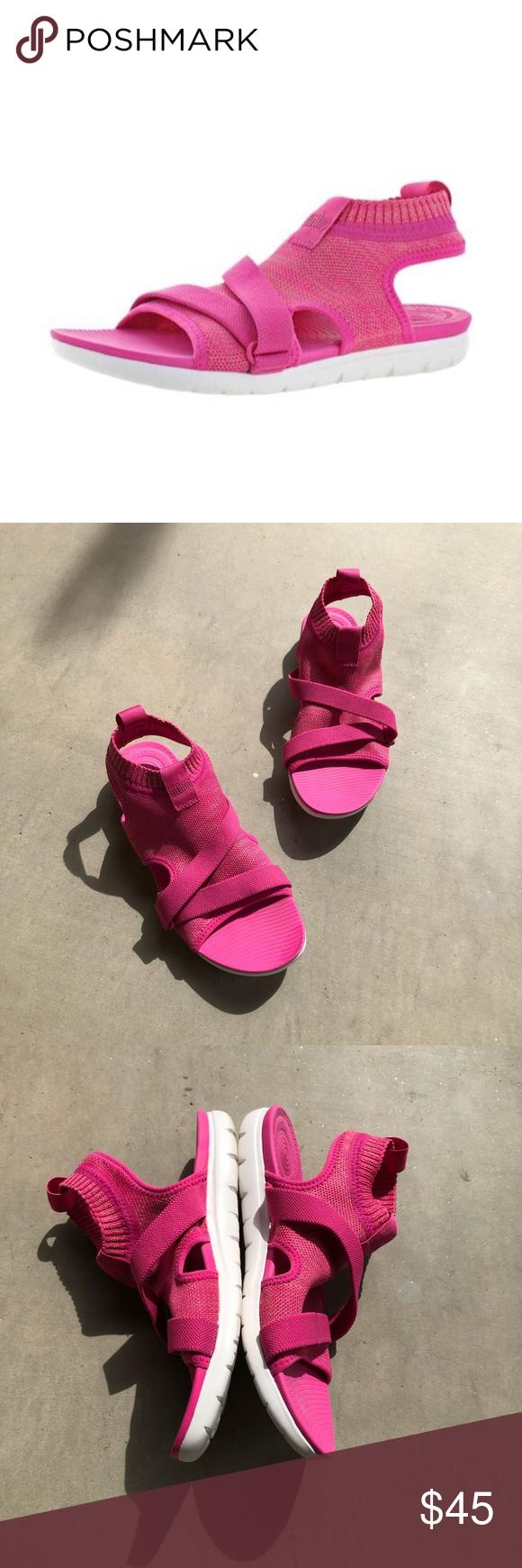 FITFLOP Pink Uberknit Back-Strap