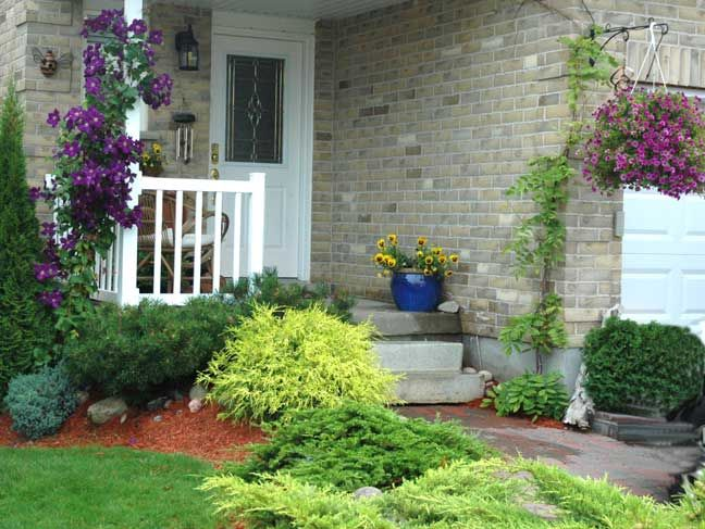 Fresh Landscaping A Slope Near House LandscapingIdeas Pictures - Luxury small yard landscaping ideas Elegant