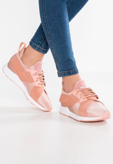 9beabce92c2 Chaussures Puma MUSE X STRAP - Baskets basses - peach beige white rose   89