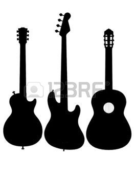 Guitar Cliparts Stock Vector And Royalty Free Guitar Illustrations Guitar Outline Guitar Illustration Guitar Drawing