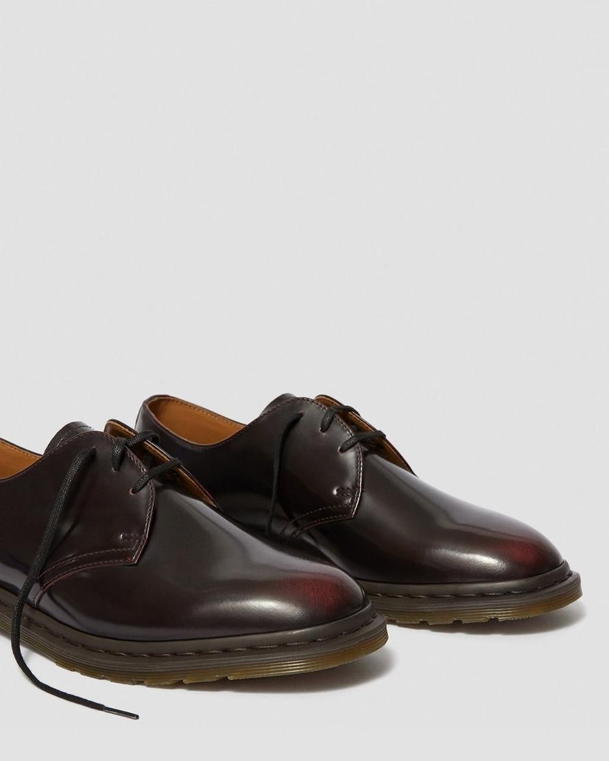 Dr martens archie ii arcadia leather lace up shoes