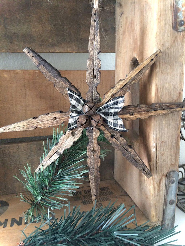 77 Rustic DIY Christmas Ornaments Ideas Christmas crafts