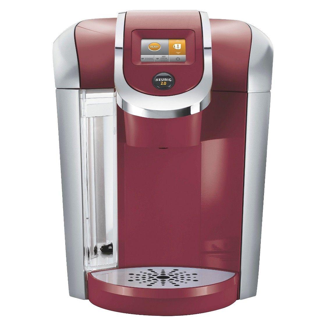Keurig 20 k400 coffee maker brewing system with carafe