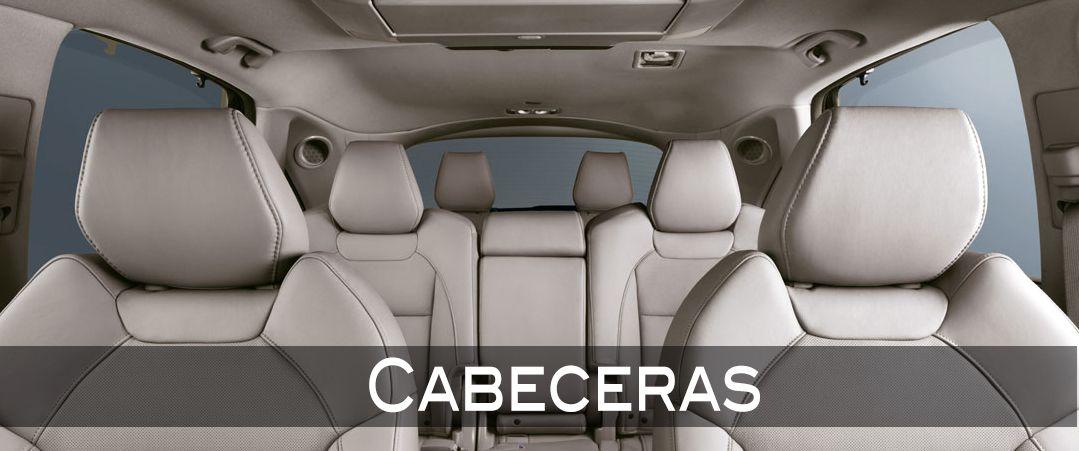 #Acura #MDX Cabeceras  Todos los asientos cuentan con cabeceras; las delanteras y segunda fila son ajustables para mayor comodidad y seguridad. Además, la del conductor y copiloto son activas, que permiten minimizar lesiones de cuello ante una posible colisión trasera. #LeonGto