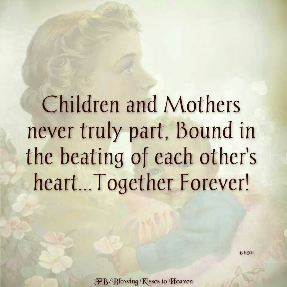 I ll carry you in my heart forever Mom