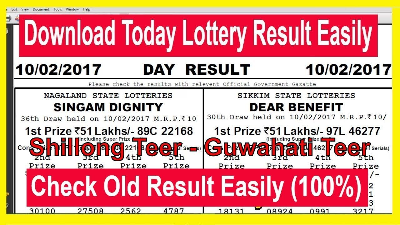 How To Download Shillong teer Juwai teer Khanapar… | How To Download