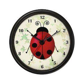 Gethotprice Com Wall Clock Clock Ladybug Wall Art