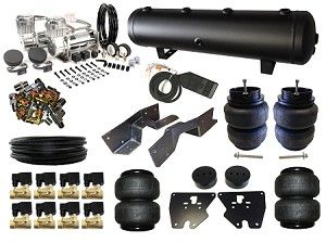 Bk111 2 Complete Fbss Airbag Suspension Kit 1963 1972 Chev C10 Electric Compressor Chevrolet
