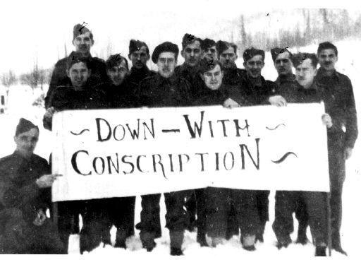 Comparing Conscription Crises of ww1 and ww2 in Canada?