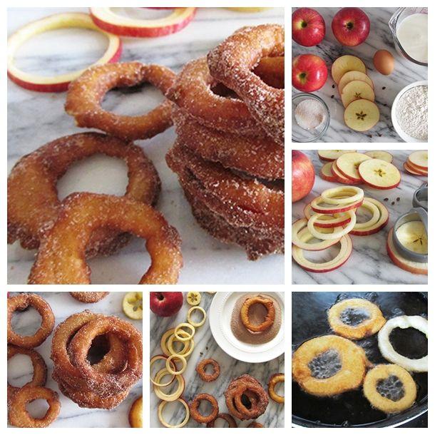 yummy-cinnamon-apple-rings #diy #recipe