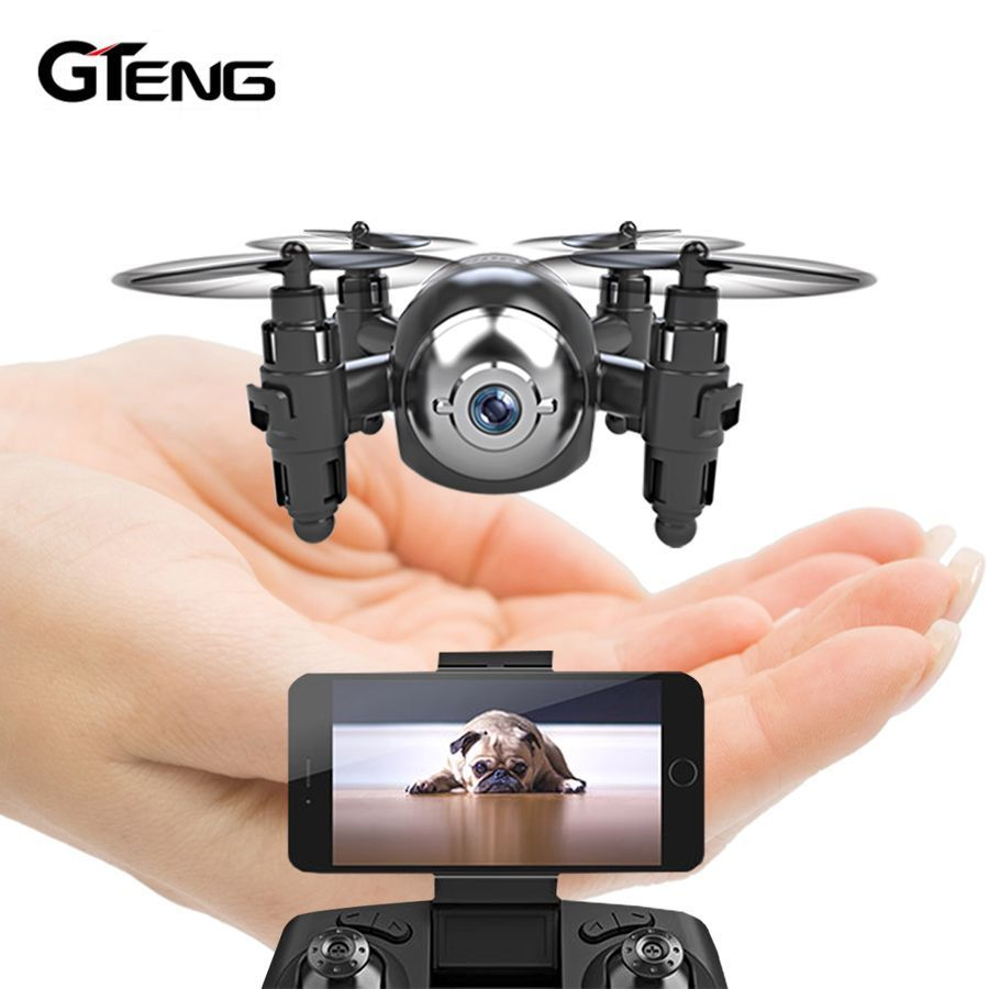 Gteng T906W FPV Mini Drone With Camera Hd Quadcopter Rc Helicopter Selfie Dron Remote Control
