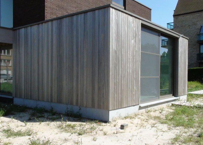 Eiken hout voor gevelbekleding google zoeken buitenkant pinterest gevelbekleding hout - Buitenkant terras design ...