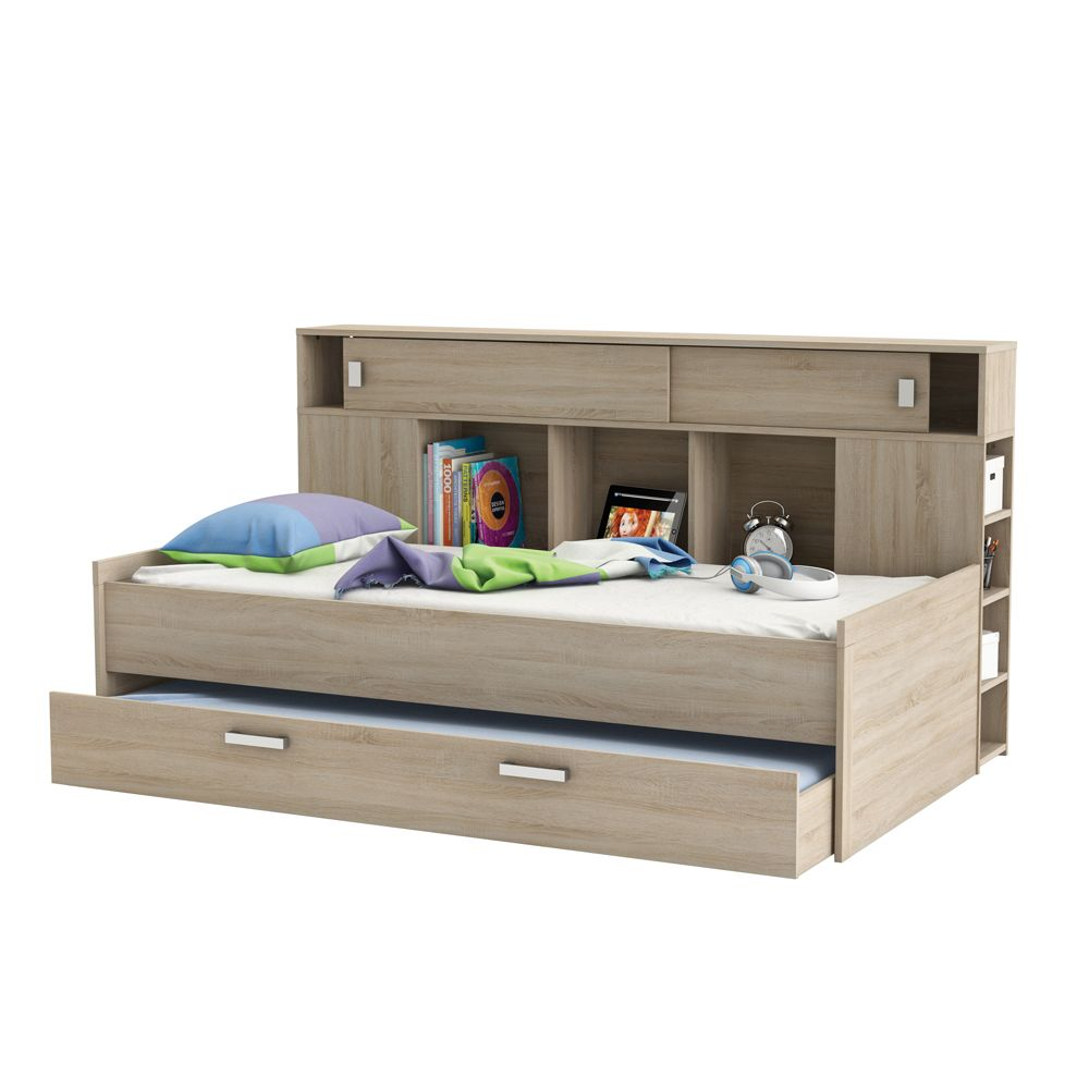 Demeyere Sherwood Storage Single Bed with Trundle