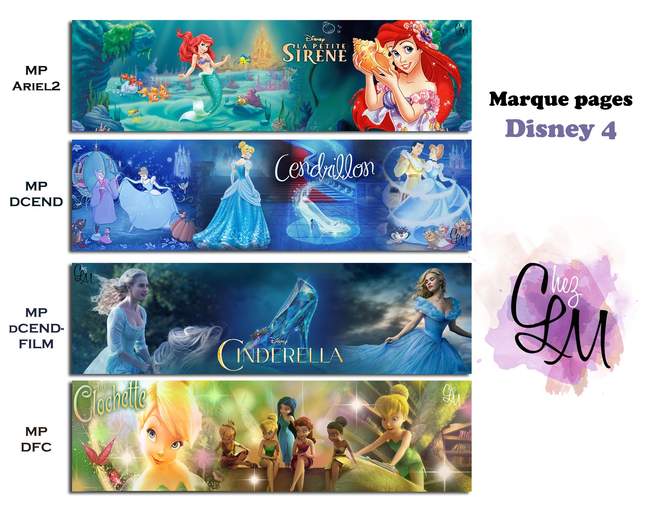 marque pages princesses disney 4 ariel2 dcend dcendfilm dfc princesse de disney. Black Bedroom Furniture Sets. Home Design Ideas