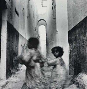 Irving Penn, Moroccan Running Children, (Rabat), 1951. Gelatin silver print, printed before 1959