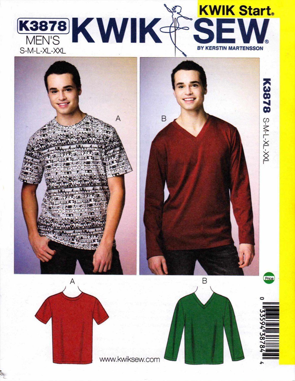 Kwik sew sewing pattern 3878 mens size s xxl chest 34 52 kwik sew sewing pattern 3878 mens size s xxl chest 34 52 jeuxipadfo Choice Image