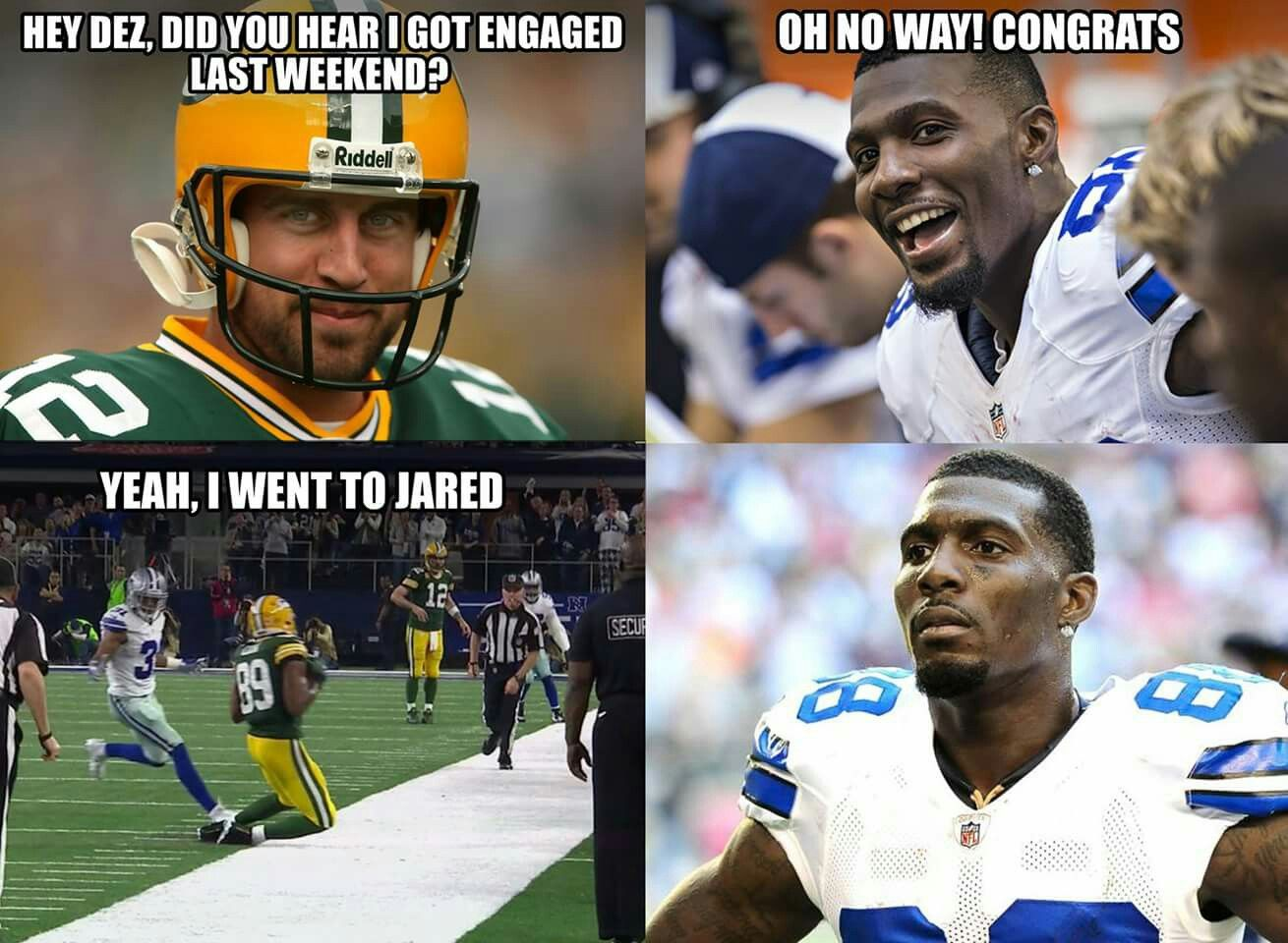 Pin By Erika Benfield On Green Bay Packers Nfl Memes Green Bay Packers Football Football Funny