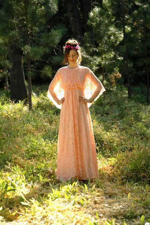 Lace Maxidress... Romantic Maxi Dress... by AstralBoutique on Etsy, $58.00