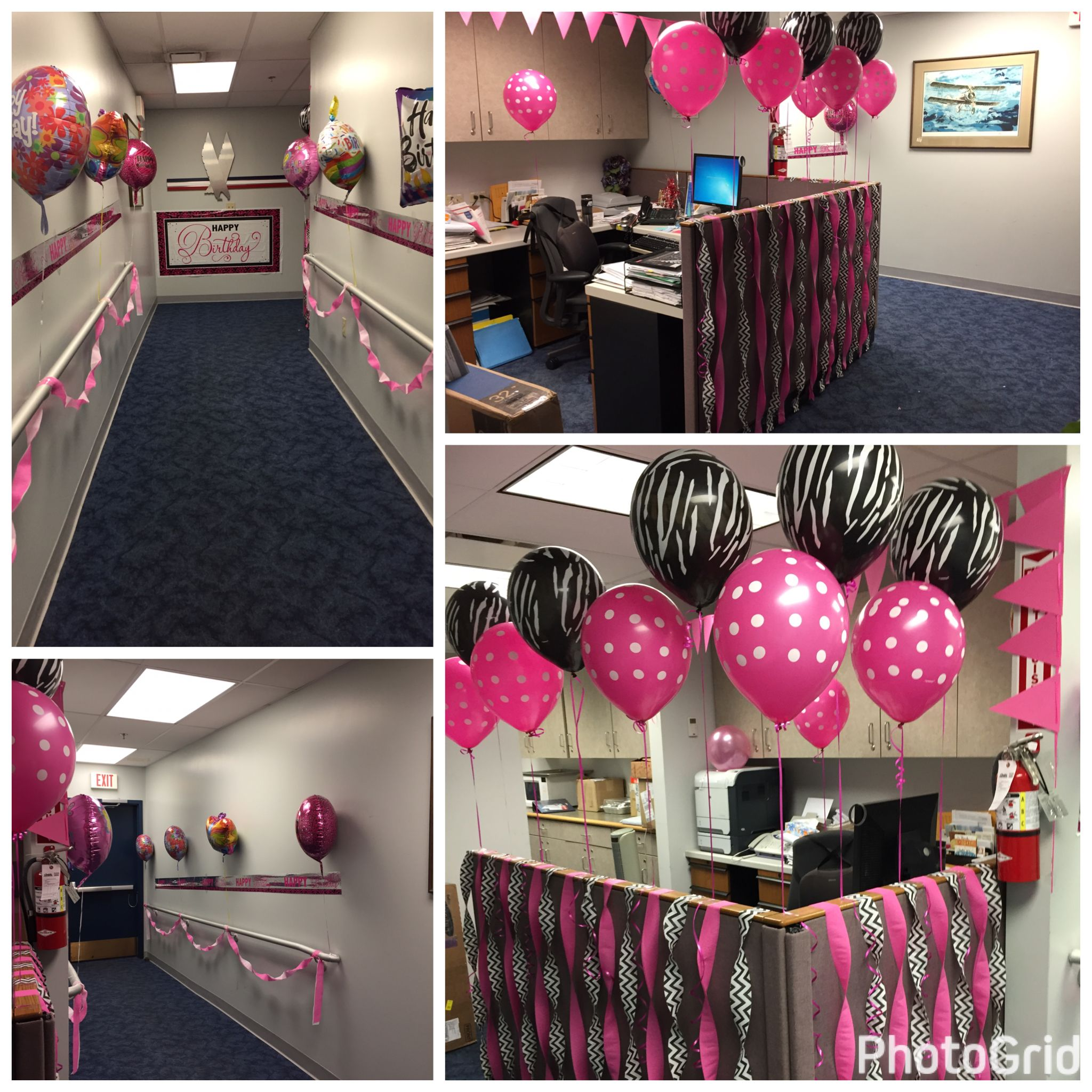 Decorating Office for Birthday Party! | Party Decorations ...