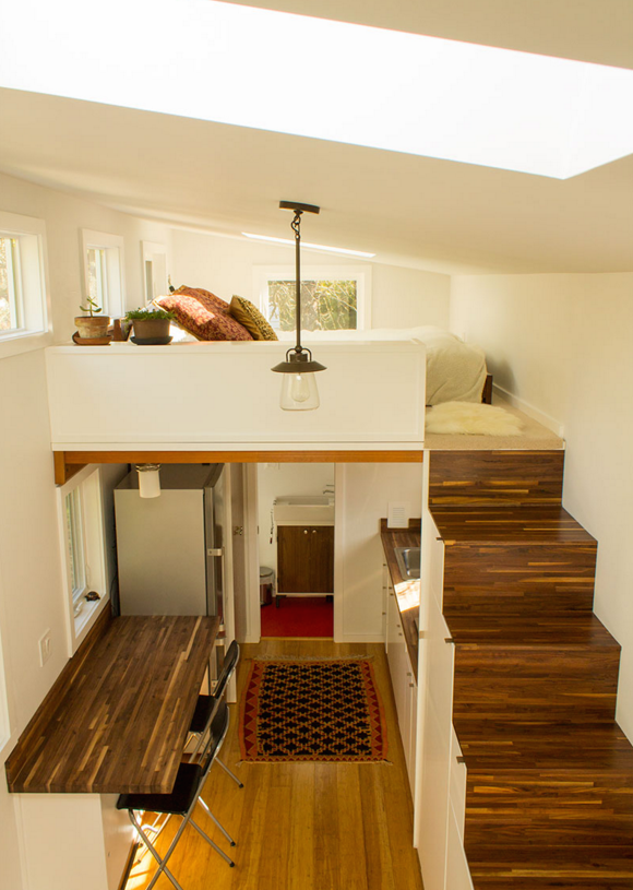 Inside A Tiny House That Actually Has Room For Guests Tiny House Interior Tiny House Interior Design Tiny House Living