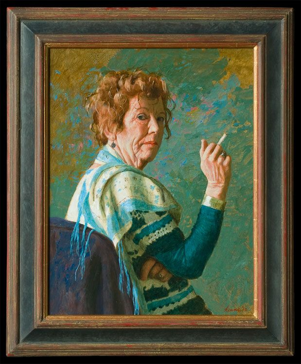Kenne Gregoire Portrait Art Portrait Painting Figure Painter