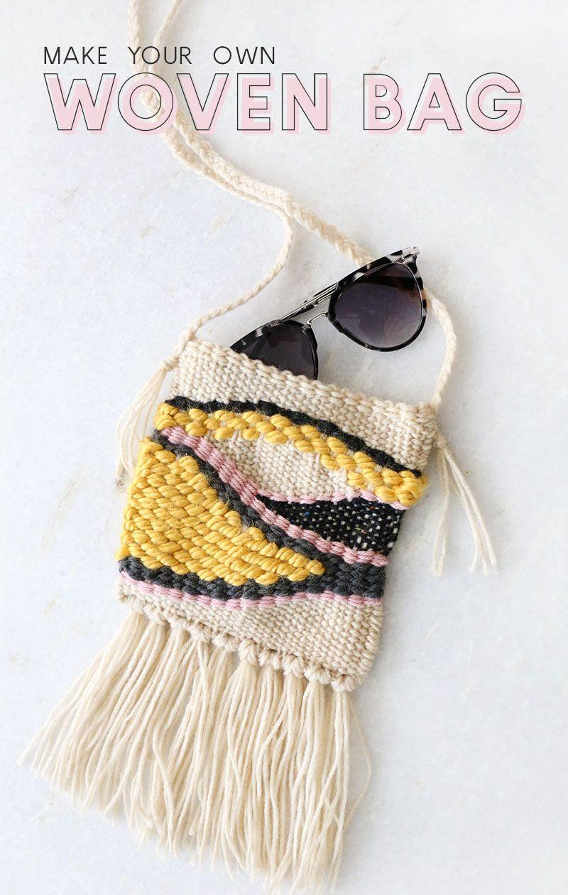 DIY Woven Bag: Multicolor Bag - Consumer Crafts