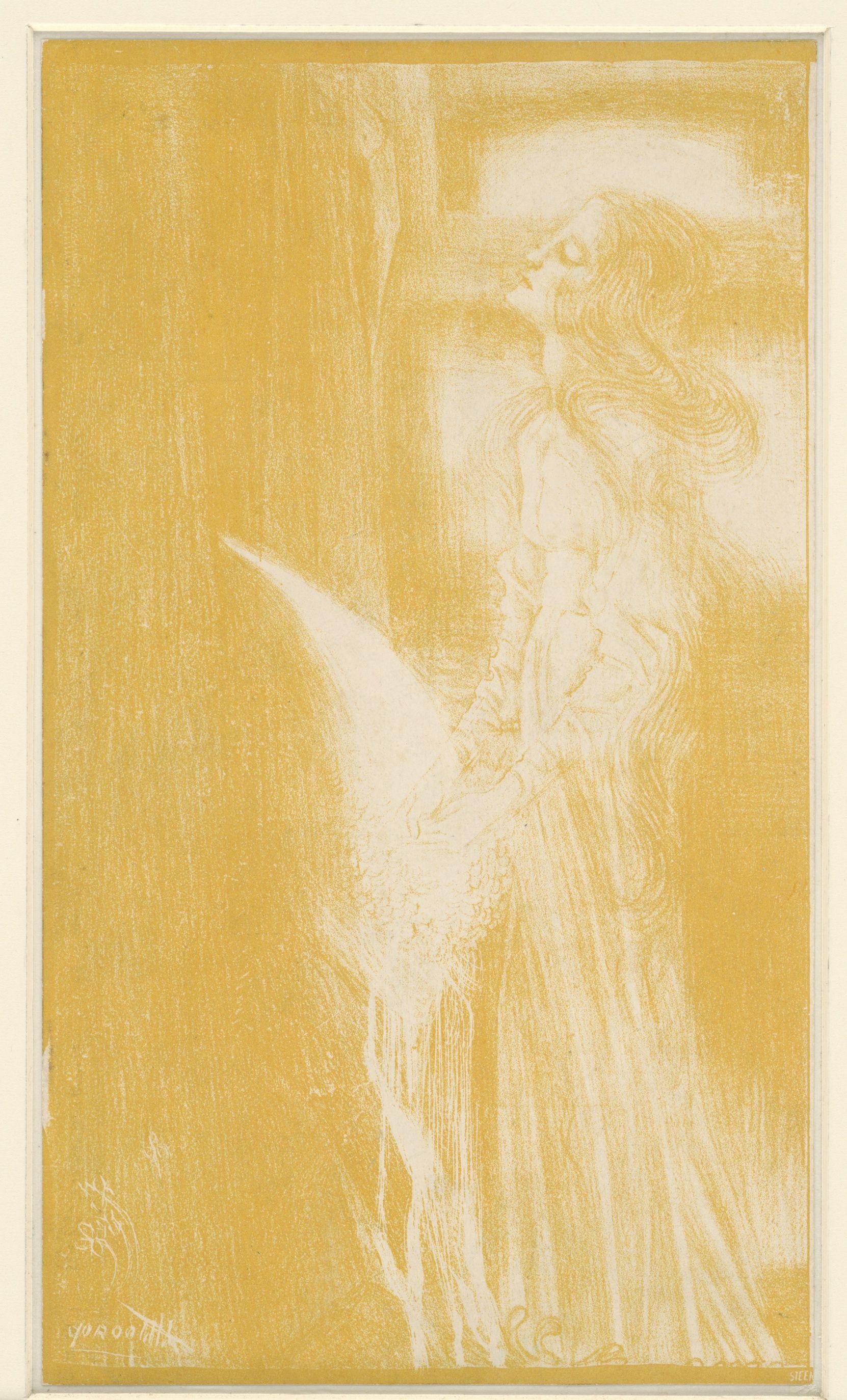 Art Nouveau In Het Rijksmuseum.Uitsnede Uit Het Omslag Van Het Programma Van De Uitvoering