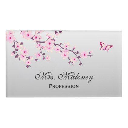 Premade Cherry Blossom Logo Sakura Logo For A For A Wedding Photography Wedding Agency Personal Coaching Flower Logo Design Floral Logo Design Business Logo Design