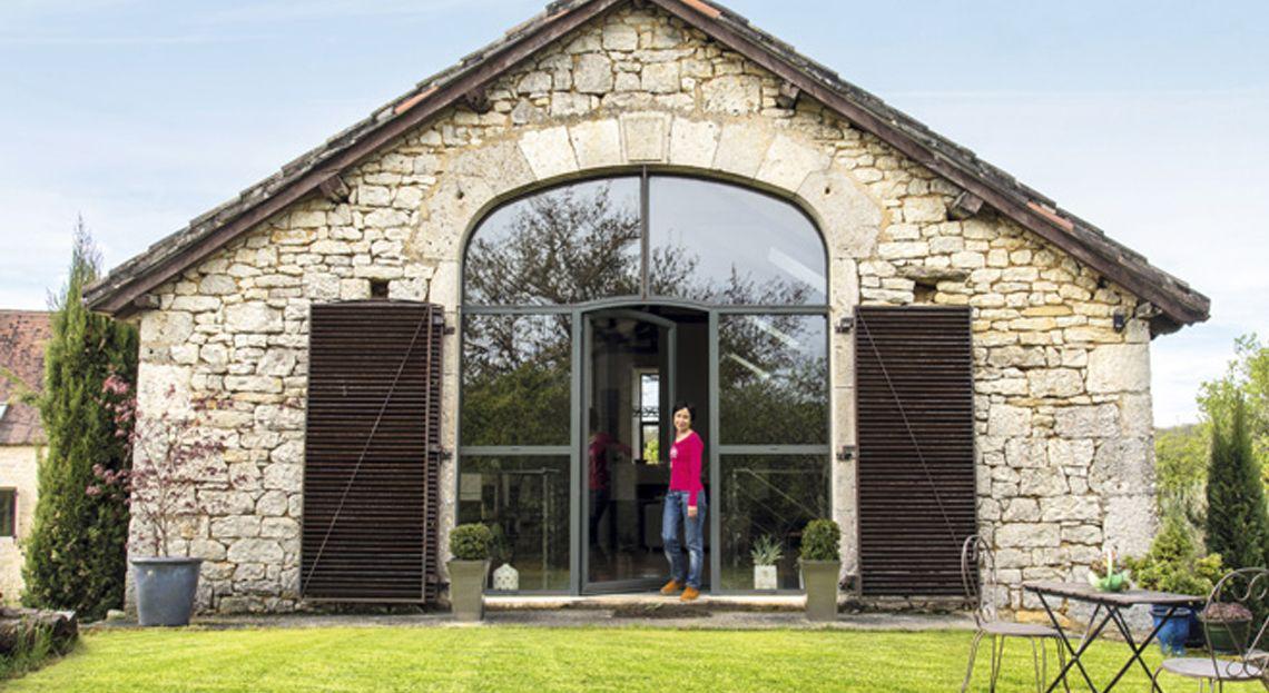 Une grange r nov e avec brio - Magnifique maison du milieu du xxe siecle renovee ...