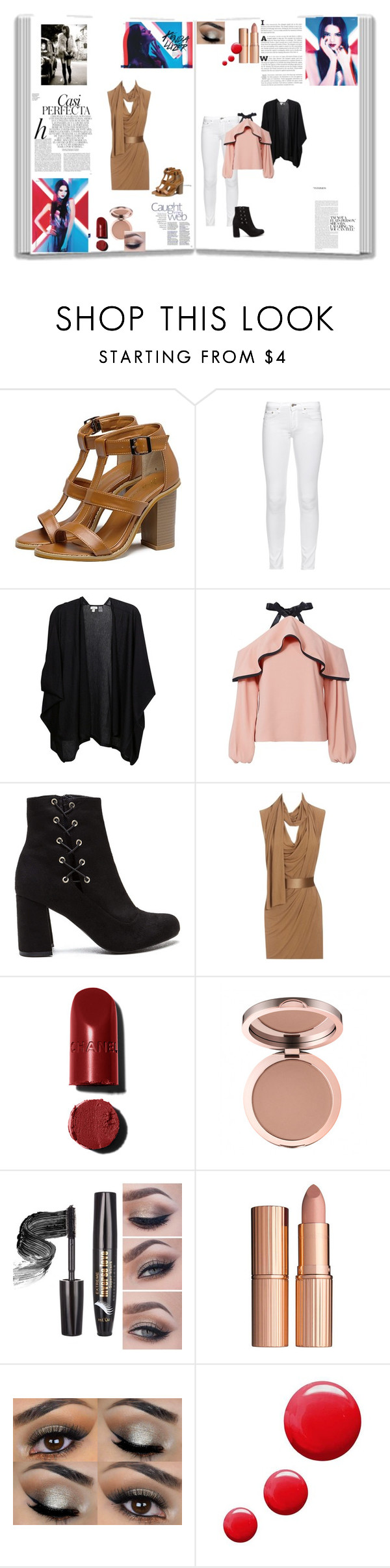 """""""Untitled"""" by water-element ❤ liked on Polyvore featuring rag & bone, Kinross, Alexis, Alexander McQueen, Charlotte Tilbury, Topshop, Paul Frank and Whiteley"""