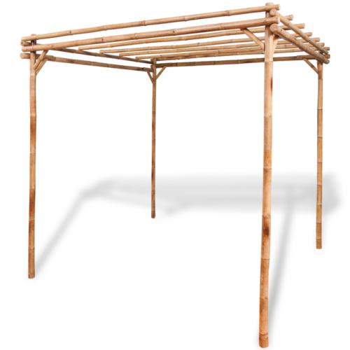bambus pergola gartenlaube spalier rankhilfe rosenbogen pavillon, Terrassen ideen