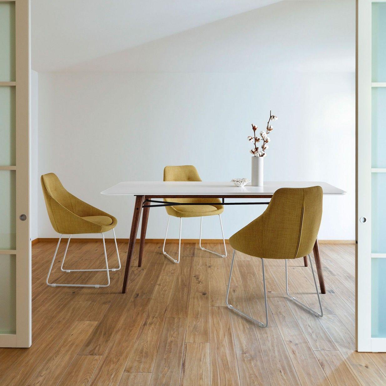 Esszimmermöbel design erset alba stühle  gelb  sømcasa  wohnen  pinterest  interiors