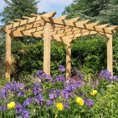 Green Oak Garden Gazebo Pictures - Google Search | Green Oak