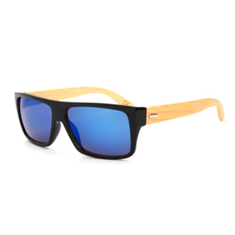 87b6aef95c0e8 Vintage Bamboo Wooded Sunglasses Wood Legs Sunglasses Women Brand Designer  Men Driving Eyewear Like if you are Excited! Visit us