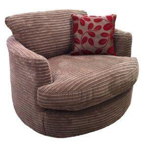 Jumbo Cord Cuddle Chair Swivel Chair Chair Cuddle Chair