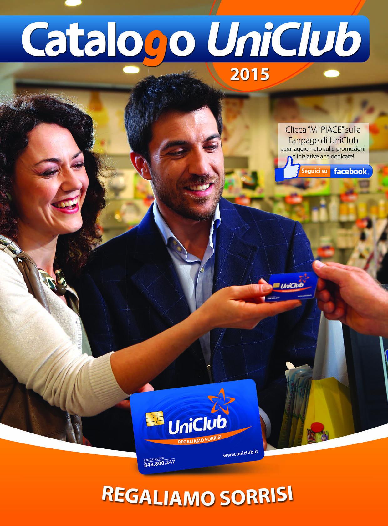 """Regaliamo Sorrisi, come? Attraverso l'emozione di un regalo che UniClub ti concede grazie alla card, realizzando velocemente il tuo """"sogno"""" con premi sempre più belli e prestigiosi. Grazie al concorso SuperVinci, UniClub ti permette, inoltre, di vincere subito ulteriori premi."""