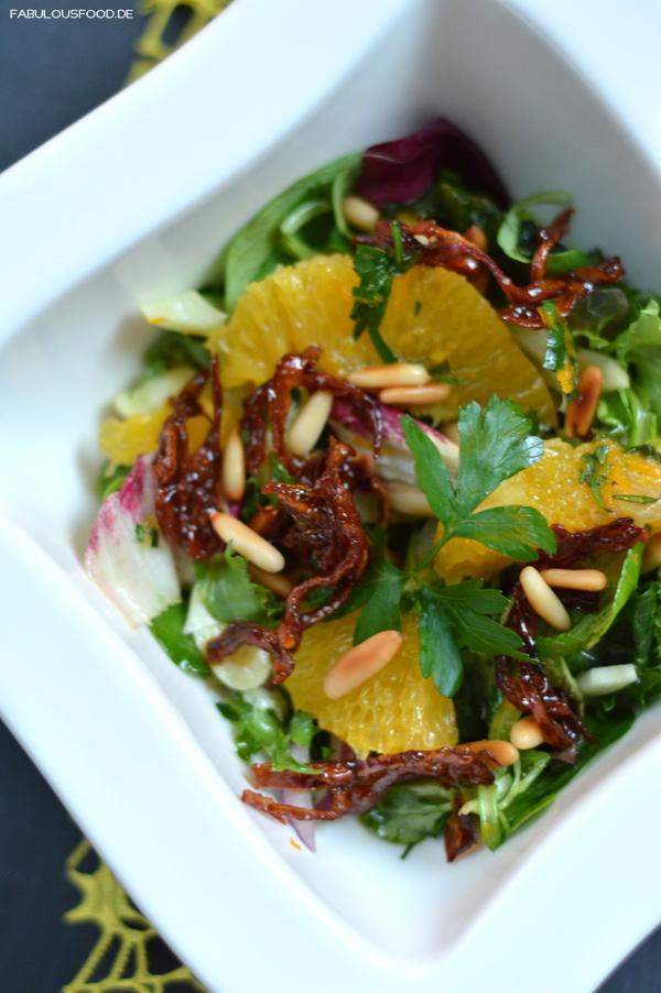Salat Weihnachten.Honigfenchelsalat Langnese Honig Waldblütenhonig Waldblüte