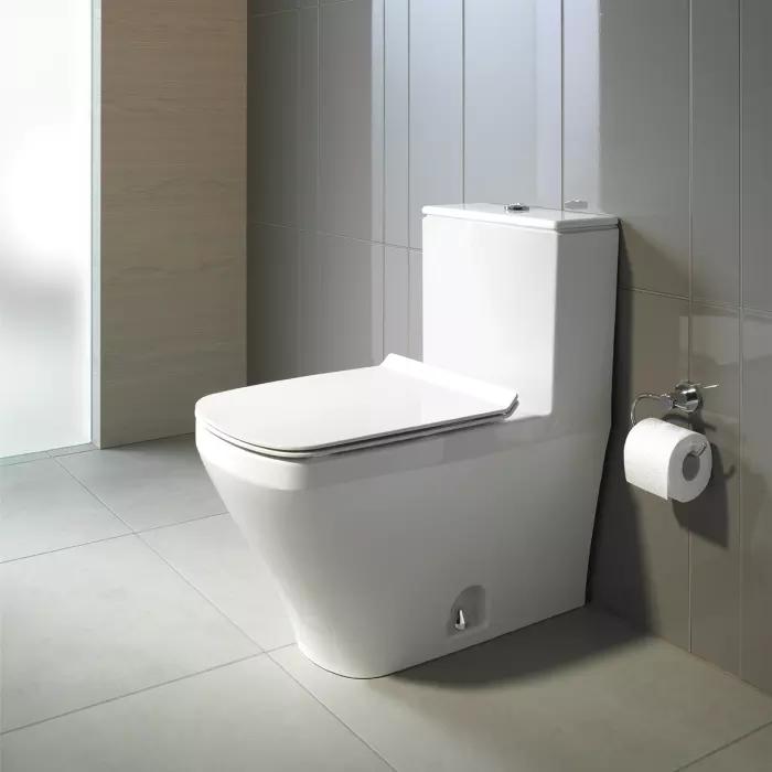 Duravit 215701 Durastyle One Piece Toilet In 2020 Modern Toilet One Piece Toilets Toilet Design Modern