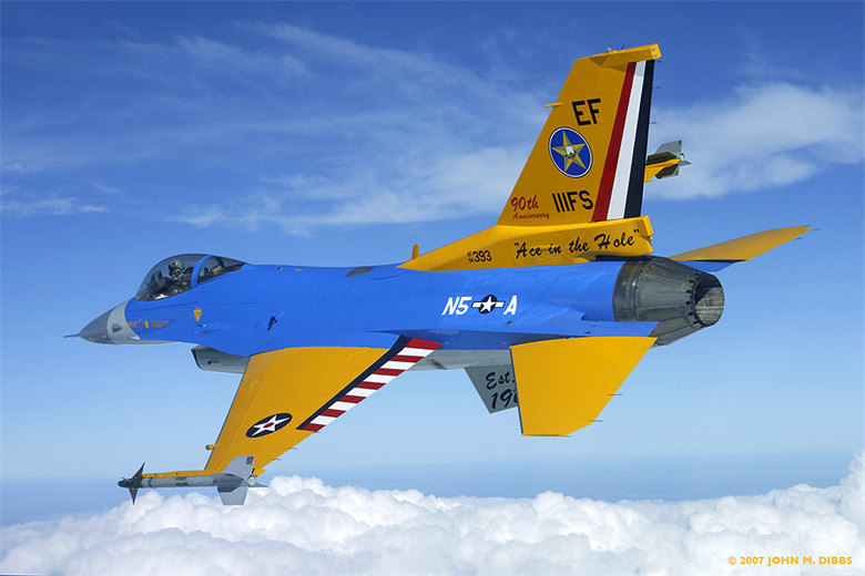 111th Fighter Sq, 90th Anniversary Aircraft, Airplane