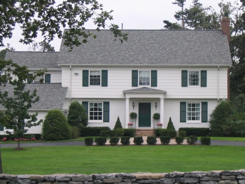 Update A Garrison Home Google Search Exterior Of Homes Pinterest House Plans Colonial